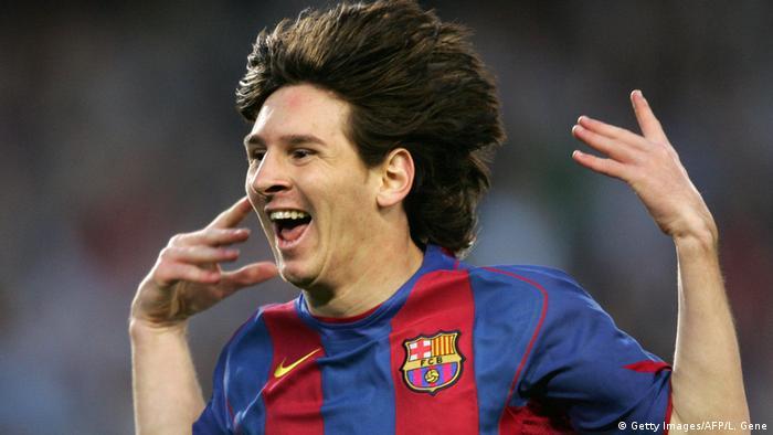 Fußball Spanien Lionel Messi (Getty Images/AFP/L. Gene)