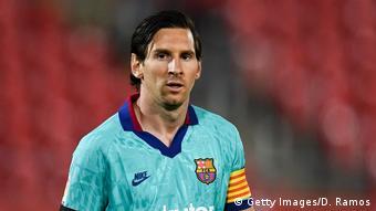 Fußball Spanien Lionel Messi