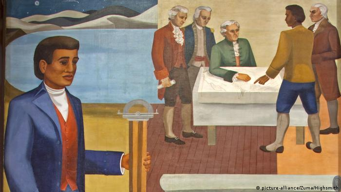 Painting of Benjamin Banencker (picture-alliance/Zuma/Highsmith)