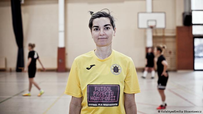Polen Warschau LGBT-Aktivistin Suzi Andreis