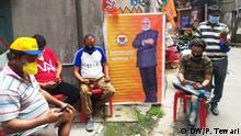 Reale und Virtuelle Politische Kundgebung, von unserem Korrespondenten Prabhakarmani Tewari