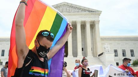 USA   Oberster Gerichtshof   LGBT-Arbeitnehmer (AFP/J. Watson)