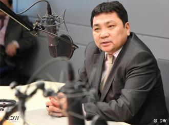 Mongolian Environment and Tourism Minister, Gansukh Luimed
