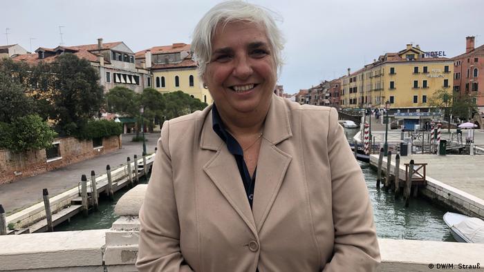 Comissária de Turismo de Veneza Paola Mar