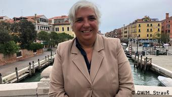 Paola Mar, the city commissioner for tourism (DW/M. Strauß)