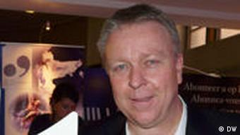 Martin Heller, künstlerischer Direktor Europäische Kulturhauptstadt Linz (Foto: Bernd Riegert Deutsche Welle)