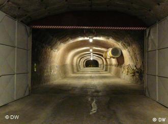 Nuclear waste is stored underground near the city of Gorleben