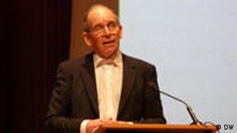 Robert Palmer, Direktor der Europäischen Kulturhauptstadt Glasgow 1990 und Brüssel 2000 (Foto: Bernd Riegert, Deutsche Welle)
