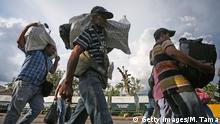 Symbolbild I Kolumbien I Flüchtlinge verlassen Cucuta