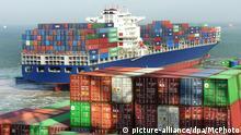 Asien Container-Schiff Handel Wirtschaft