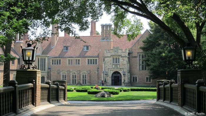 Meadow Brook Hall at Oakland University is the keeper of the Dodge flame