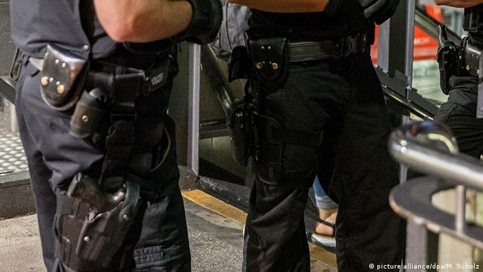 Polizei Schusswaffen (picture alliance/dpa/M. Scholz)