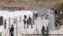 Neues Flüchtlingscamp in Griechenland während der Covid-19 Krise