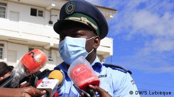 Afrika Mosambik Polizei Kinder Coronavirus