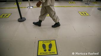 Bangladesh   Coronakrise   Wiedererröffnung des Hazrat Shahjalal International Airport