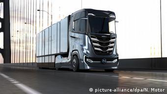 Грузовик Nikola Truck Tre
