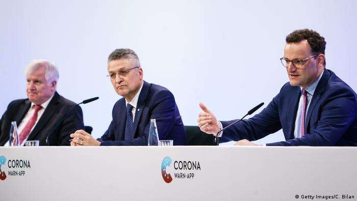 Pressekonferenz Corona-Warn-App