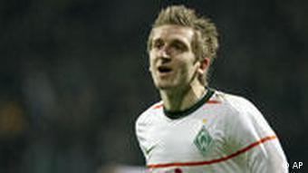 Fußball DFB Pokal Werder Bremen - FC Augsburg