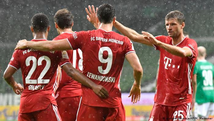 Robert Lewandowski was the difference again for Bayern Munich