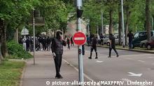 Frankreich Gewaltsame Ausschreitungen in Dijon