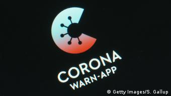 Deutschland Logo Corona-Warn-App (Getty Images/S. Gallup)