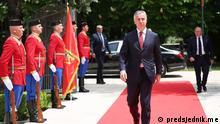 Montenegro Proteste gegen Religionsgesetz