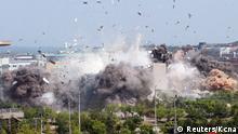 Nordkorea Explosion des Verbindungsbüros mit Südkorea in der Grenzstadt Kaesong