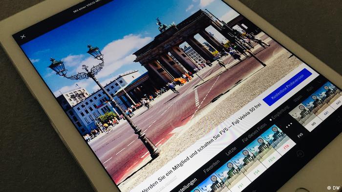 DW Shift: Fotobearbeitungs-Apps im Test - VSCO
