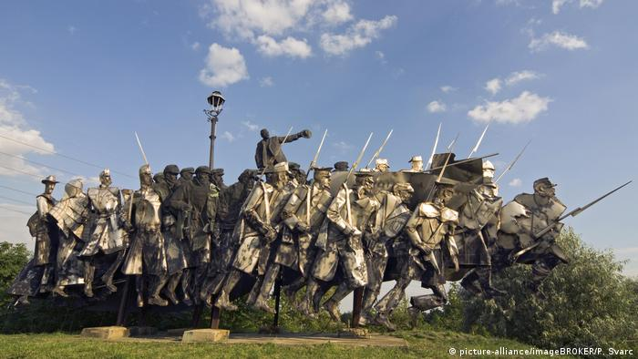 Ungarn Budapest | Bela Kun Memorial im Memento Park