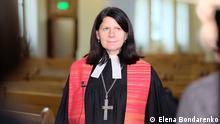 Die evangelische Pastorin Elena Bondarenko