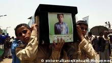 Jemen Beisetzung Opfer eines Luftangriffes