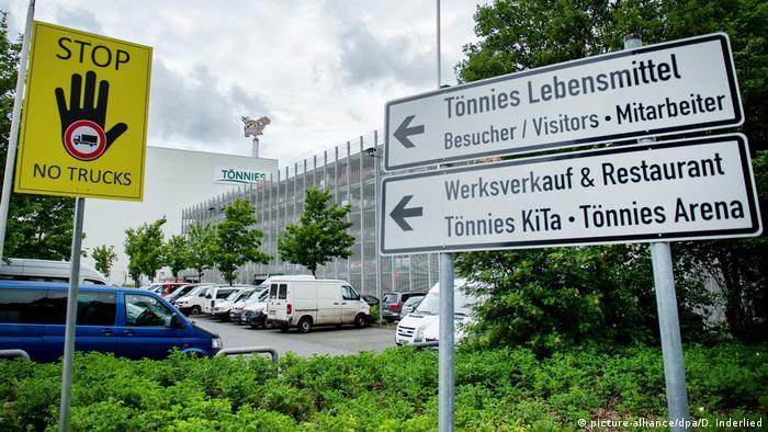 Deutschland | Rund 400 Corona-Infektionen in Schlachtbetrieb in Rheda-Wiedenbrück