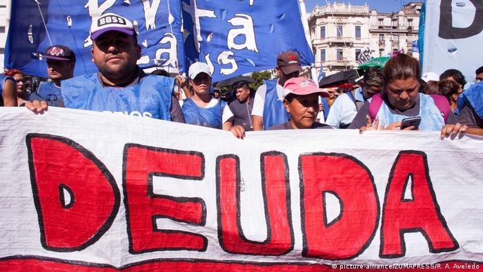 Argentinien | Protest der Gewerkschaften und soziale Organisationen