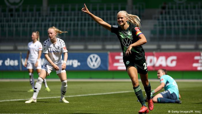 Футбол бундеслига вольфсбург