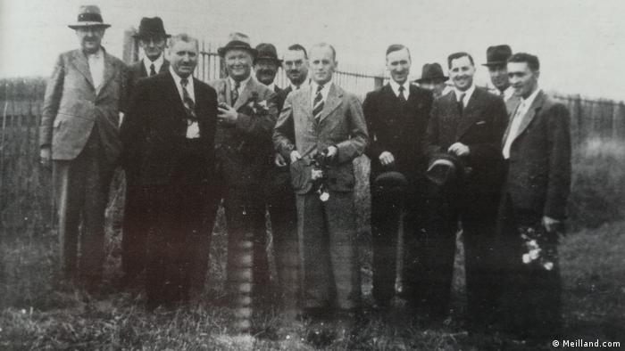 The Universal Rose Selection in June 1939 in Lyon, France
