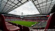 COLOGNE, GERMANY - MAY 17: A general view of the RheinEnergieStadion during the Bundesliga match between 1. FC Koeln and 1. FSV Mainz 05 at RheinEnergieStadion on May 17, 2020 in Cologne, Germany. The Bundesliga and Second Bundesliga is the first professional league to resume the season after the nationwide lockdown due to the ongoing Coronavirus (COVID-19) pandemic. All matches until the end of the season will be played behind closed doors. (Photo by Thomas Faehnrich-PoolGetty Images)