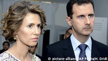 Asma und Baschar al-Assad