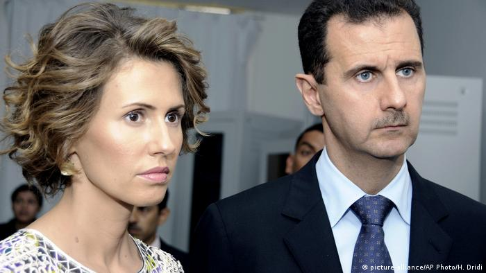 Asma e Bashar al-Assad