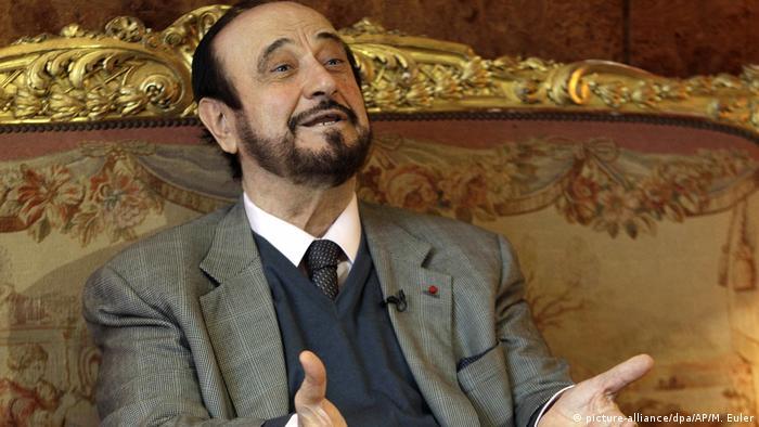 Rifaat al Asad en una imagen de archivo fechada en 2011 en París.