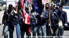 USA Philadelphia Juneteenth Jahrestag