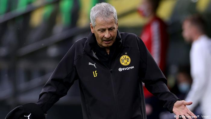 Lucien Favre has the backing of the Dortmund hierarchy