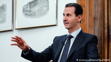 Syrien Baschar al-Assad (picture-alliance/dpa/SANA)