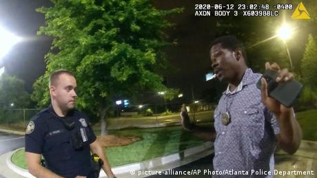 Screenshot Video Rayshard Brooks (picture-alliance/AP Photo/Atlanta Police Department)