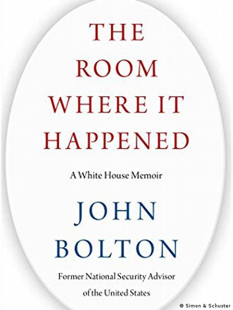 Buchcover von The Room Where It Happened: A White House Memoir (Simon & Schuster)