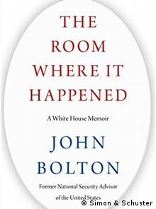 Capa do livro The room where it happened: A White House memoir, de John Bolton