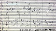Beethoven Leben in Bildern Musik Ludwig van Beethoven Partitur von der Neunten Sinfonie