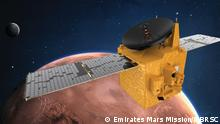 Emirates Mars Mission - Illustration