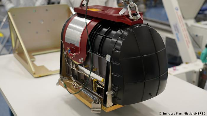 The Emirates Mars Mission's InfraRed Spectrometer (EMIRS) prior to its installation