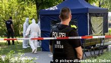 Berlin Kleiner Tiergarten Anschlag auf Georgier