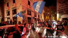 Italien Fußball |Coppa Italia | FInale | Feier Fans SSC Neapel